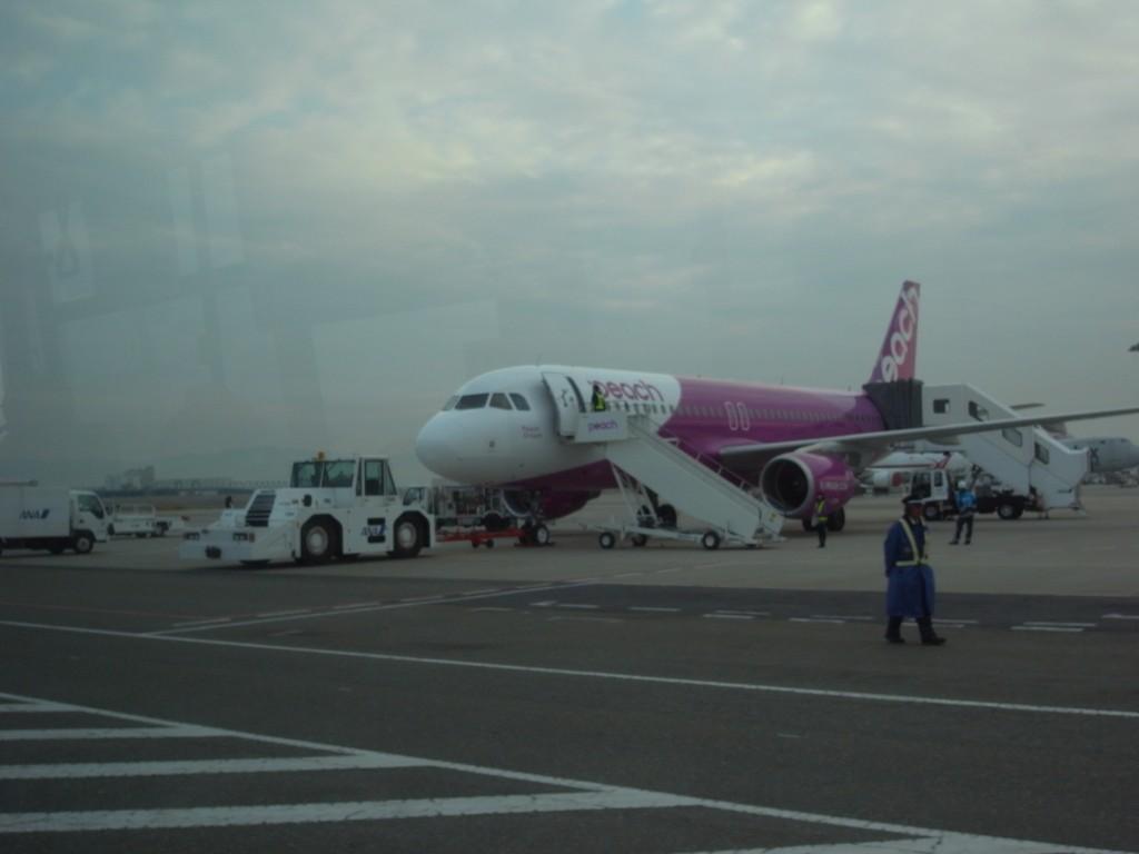 ピーチ飛行機2