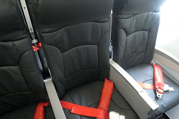 バニラエアの座席シート